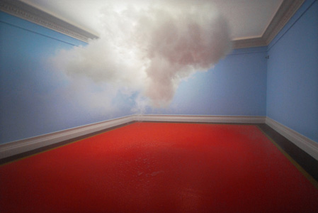 Cloud In a Room by Berndnaut Smilde
