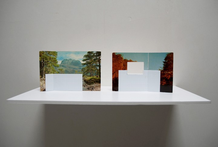 Kammerspiele - postcards and miniature tiles