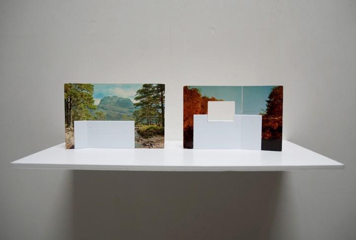 Kammerspiele - postcards and miniature tiles