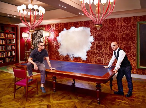 ICONOCLOUDS 2013 - Dolce e Gabbana -commission Harper's Bazaar