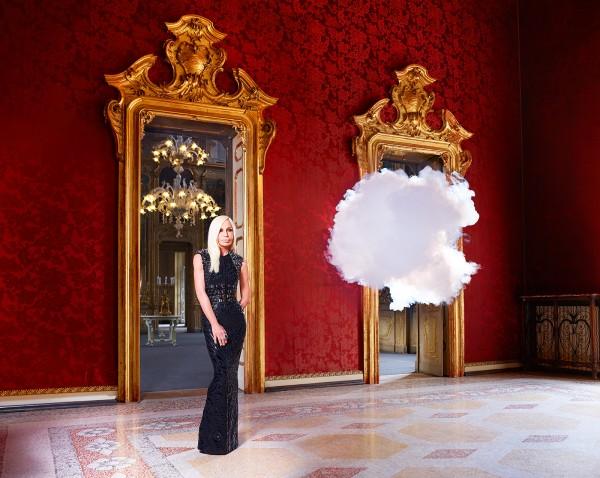 ICONOCLOUDS 2013 - Donatella Versace -commission Harper's Bazaar