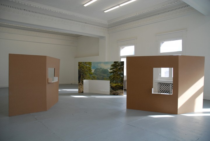Kammerspiele 2013; exhibition view at Land of Tomorrow, Kentucky, US